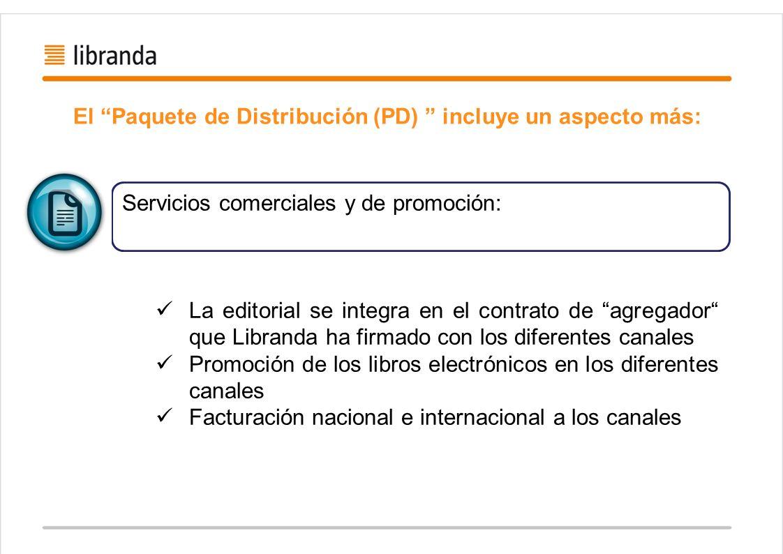 El Paquete de Distribución (PD) incluye un aspecto más: