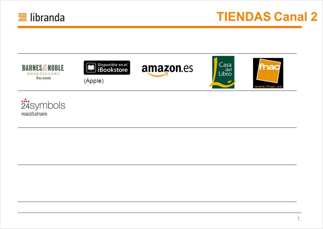 TIENDAS Canal 2 (Apple) 1