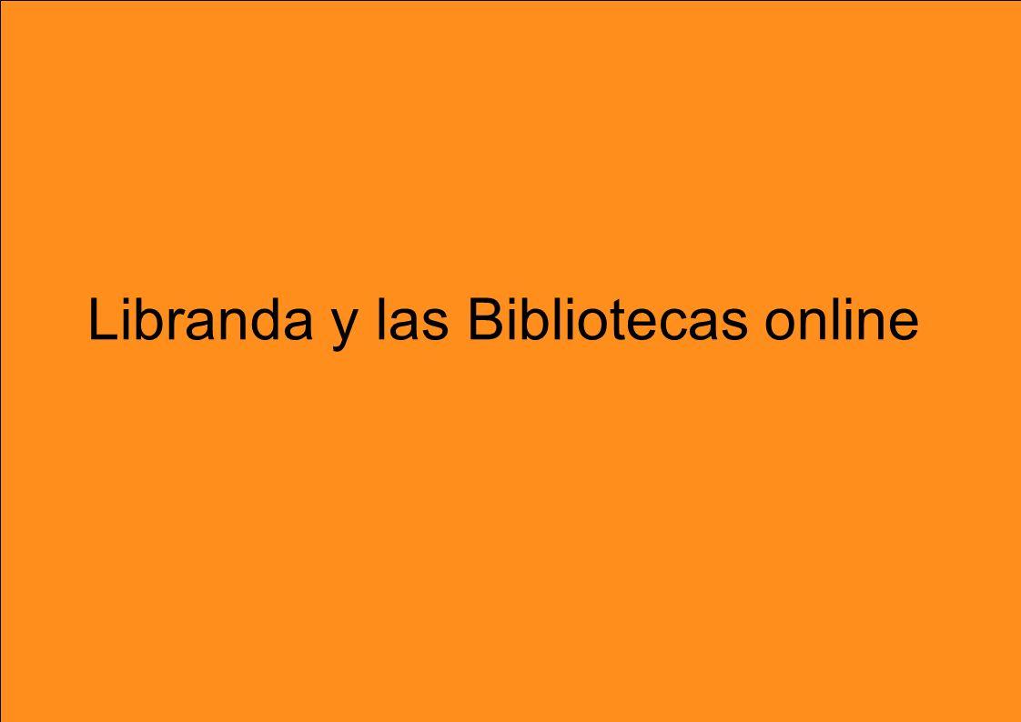 Libranda y las Bibliotecas online