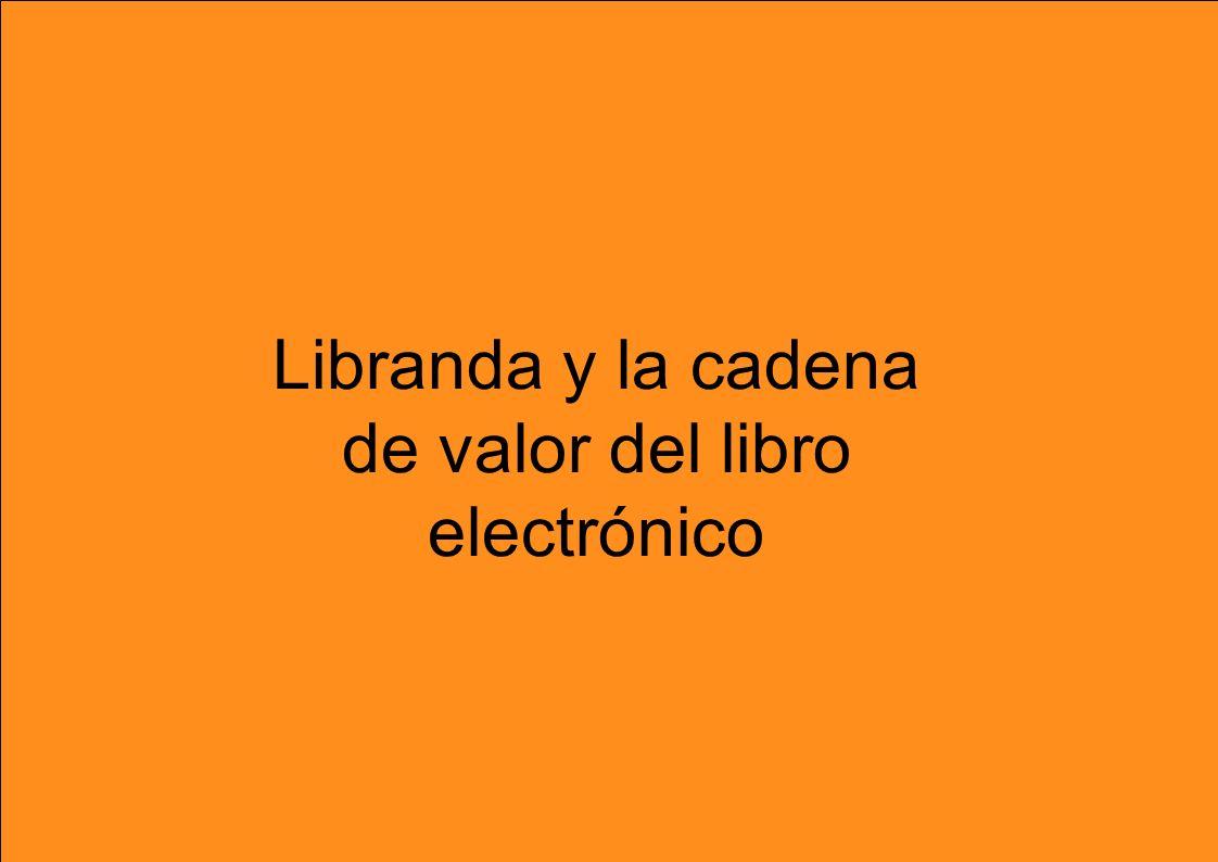Libranda y la cadena de valor del libro electrónico