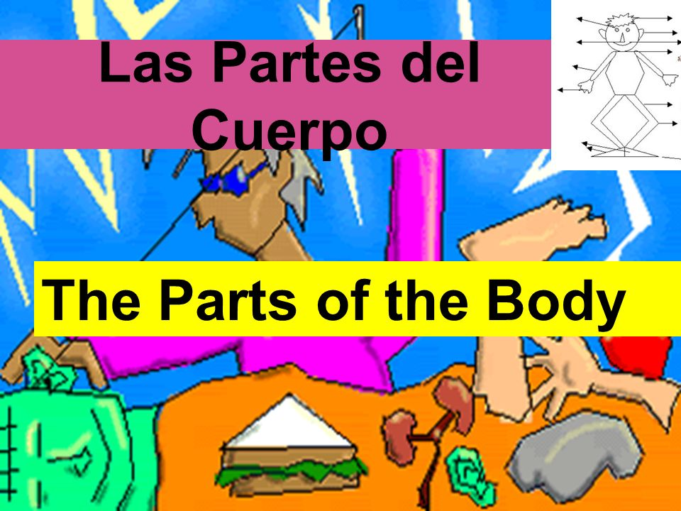 Las Partes del Cuerpo The Parts of the Body