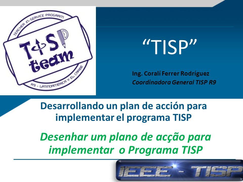 Desarrollando un plan de acción para implementar el programa TISP