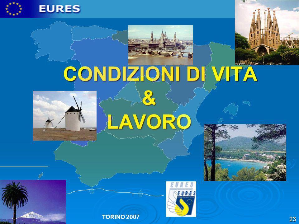CONDIZIONI DI VITA & LAVORO