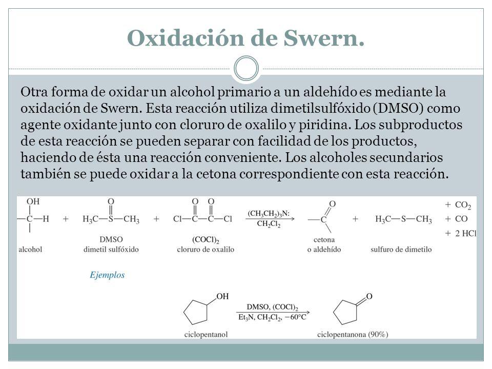 Oxidación de Swern.