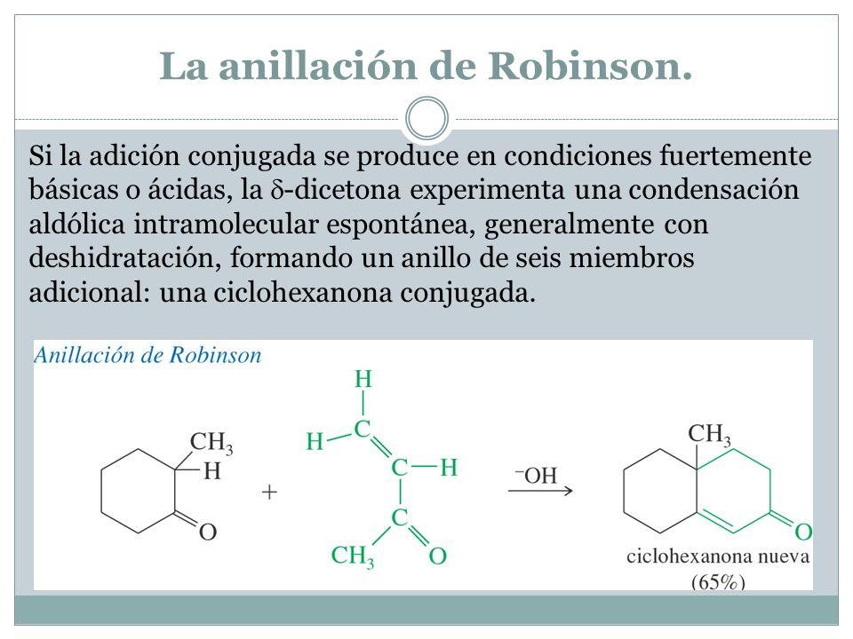 La anillación de Robinson.