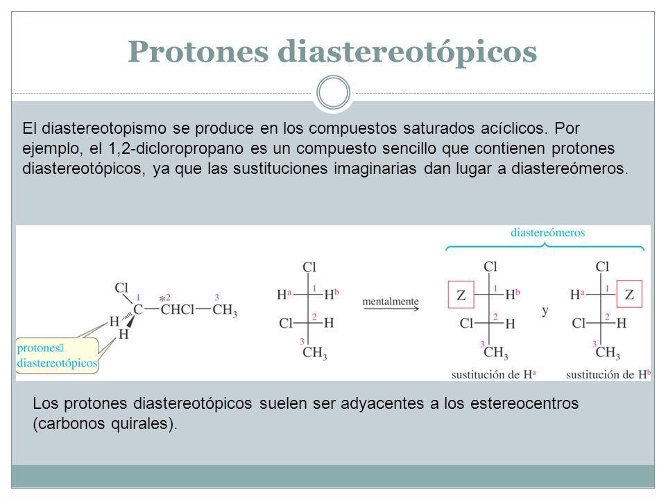 Protones diastereotópicos