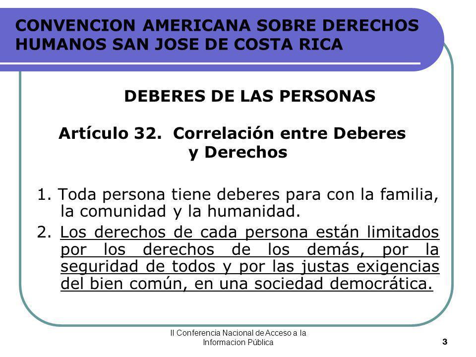 CONVENCION AMERICANA SOBRE DERECHOS HUMANOS SAN JOSE DE COSTA RICA