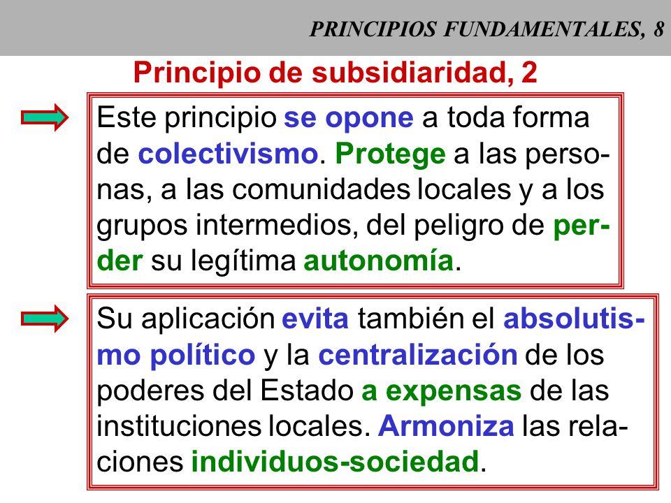 PRINCIPIOS FUNDAMENTALES, 8
