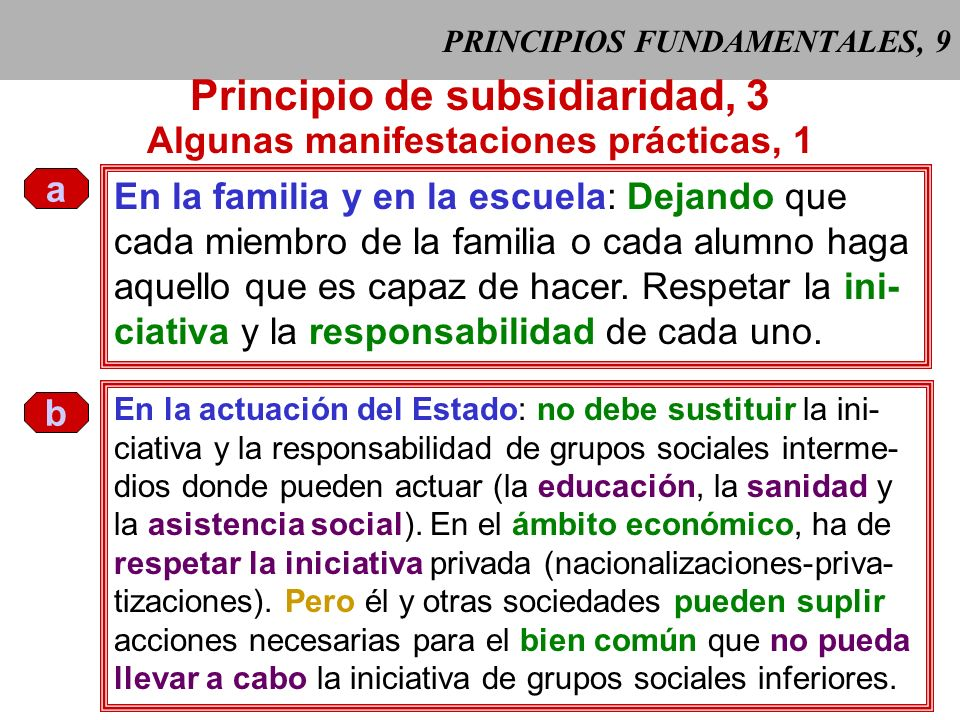 PRINCIPIOS FUNDAMENTALES, 9
