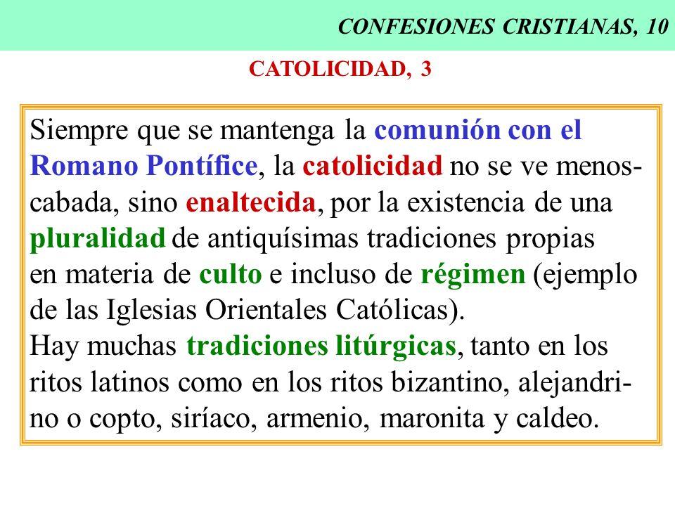 CONFESIONES CRISTIANAS, 10