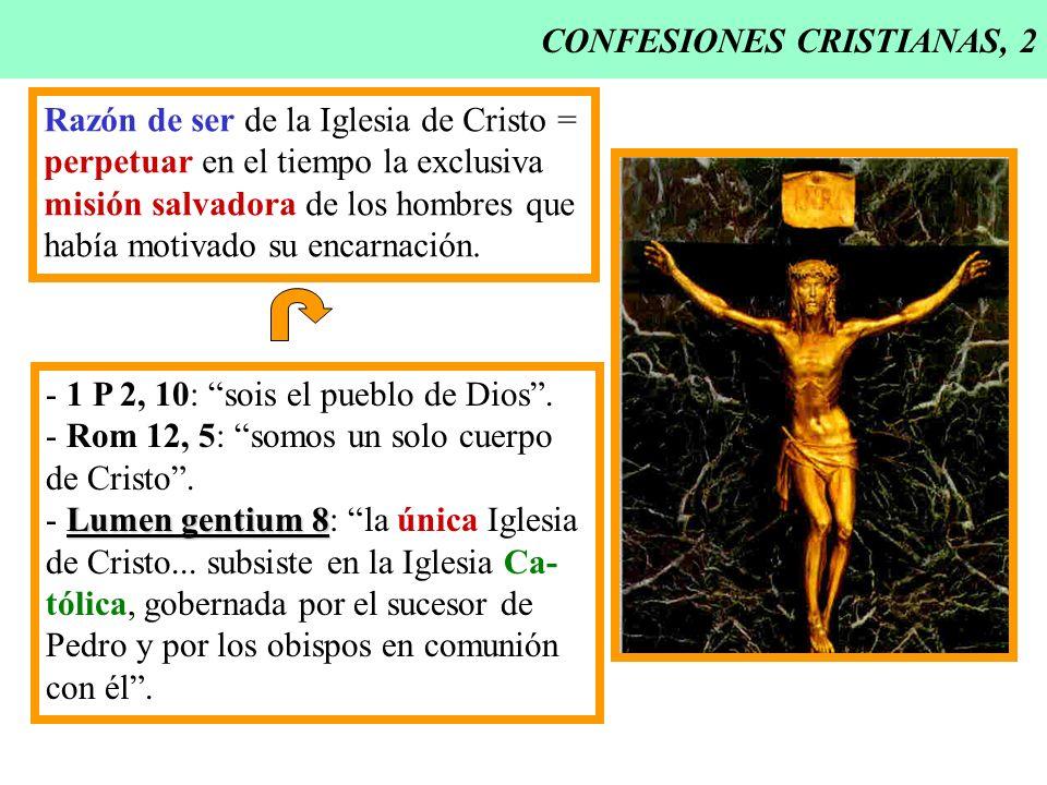 CONFESIONES CRISTIANAS, 2