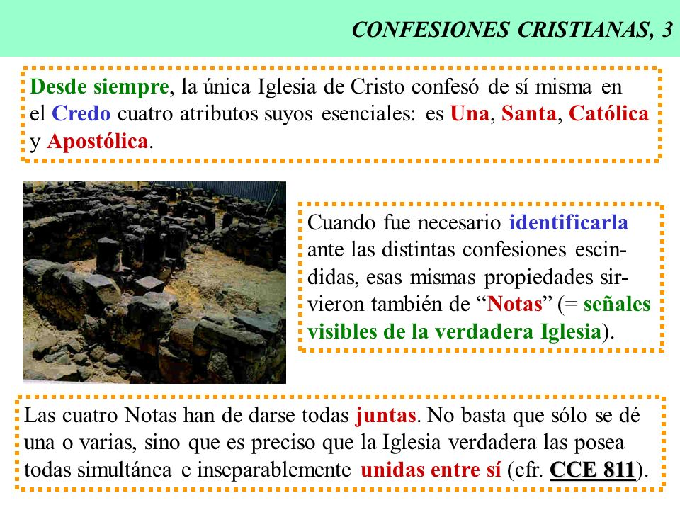 CONFESIONES CRISTIANAS, 3