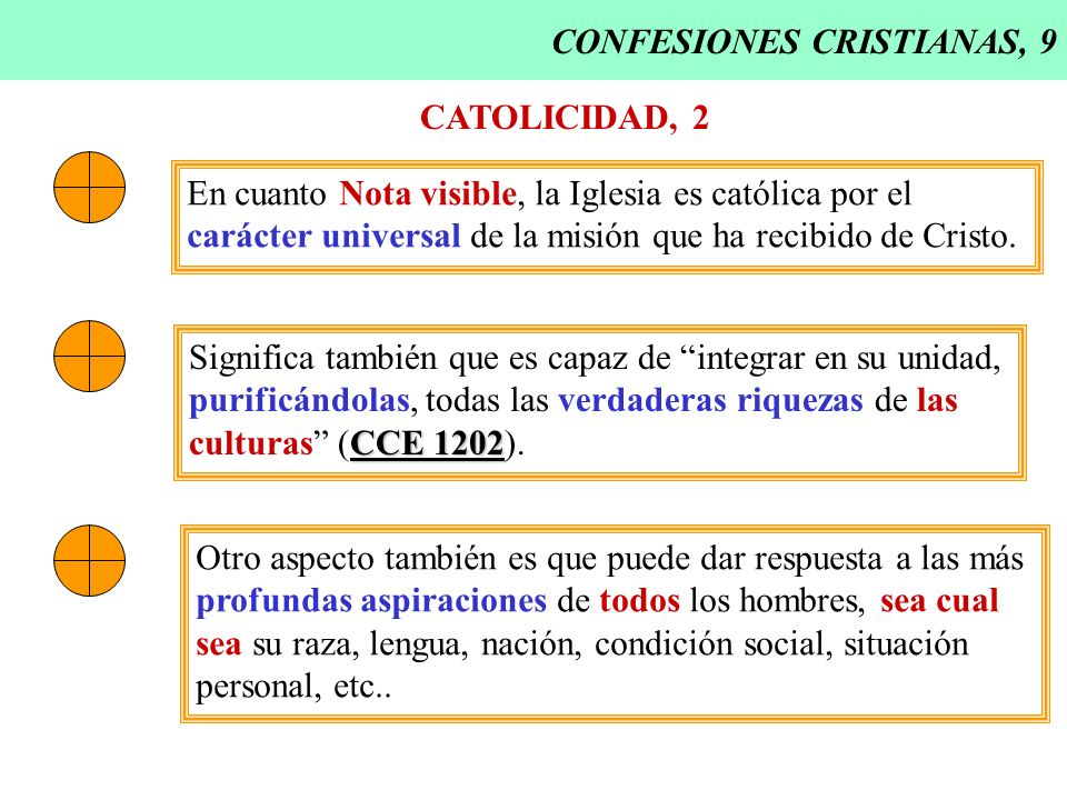 CONFESIONES CRISTIANAS, 9