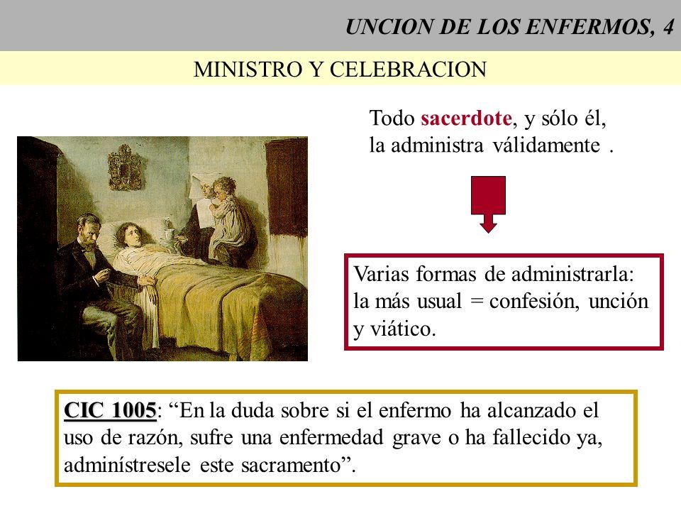 MINISTRO Y CELEBRACION