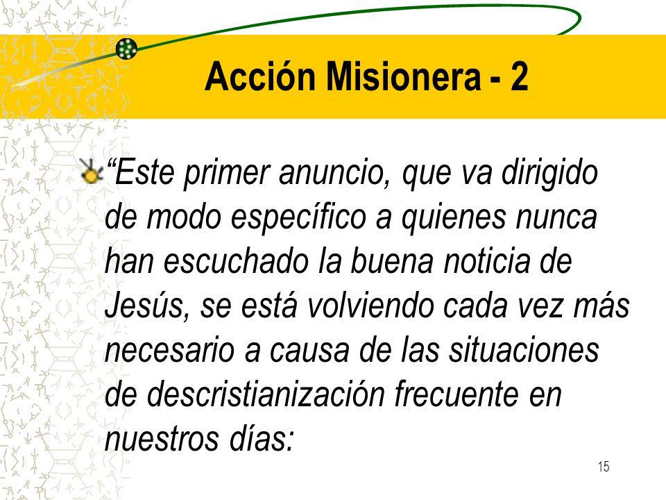 Acción Misionera - 2