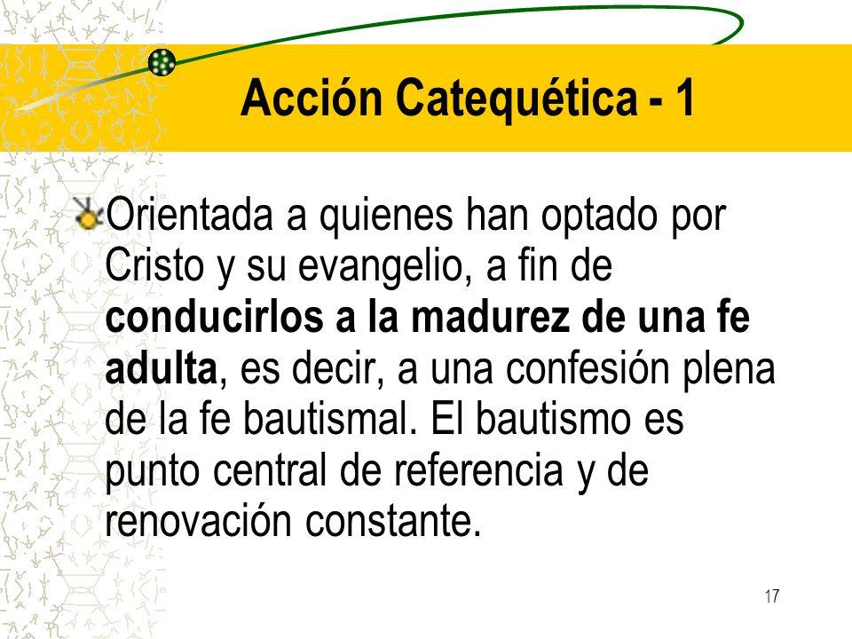 Acción Catequética - 1