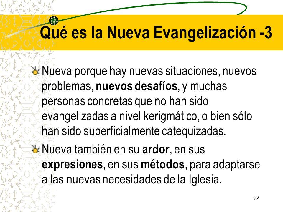 Qué es la Nueva Evangelización -3