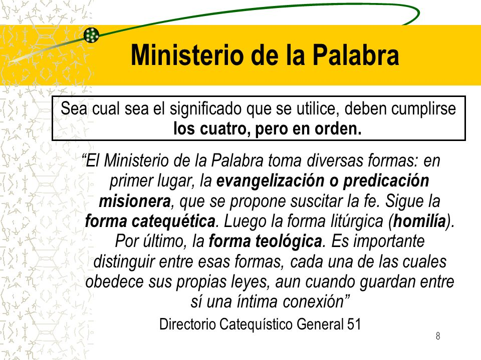 Ministerio de la Palabra