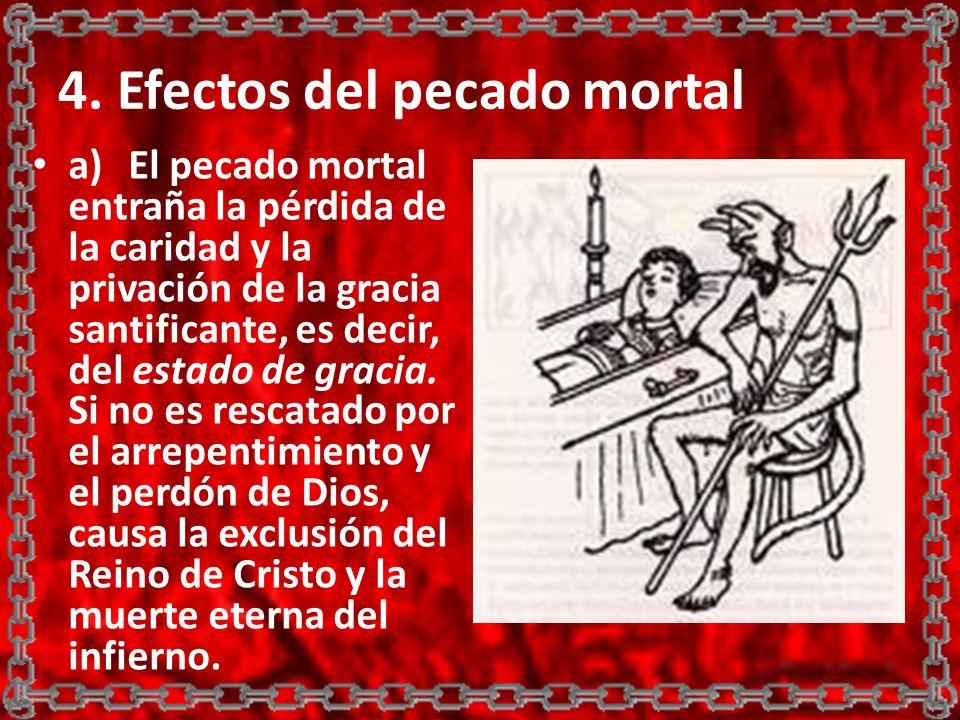 4. Efectos del pecado mortal