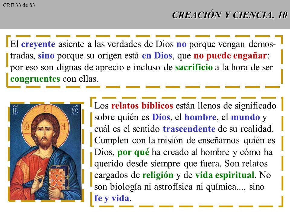 El creyente asiente a las verdades de Dios no porque vengan demos-