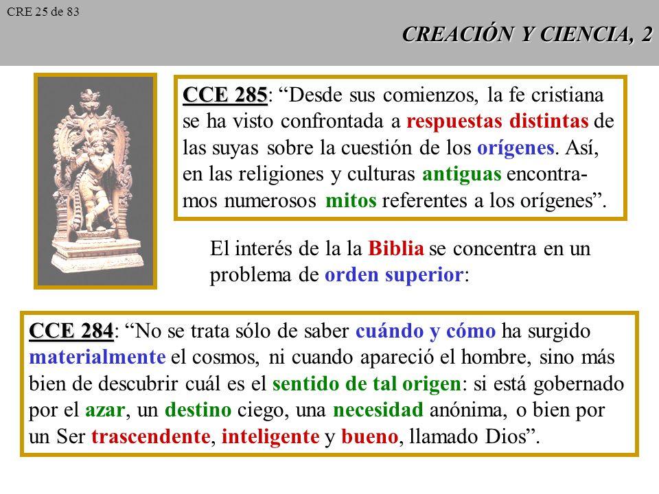CCE 285: Desde sus comienzos, la fe cristiana