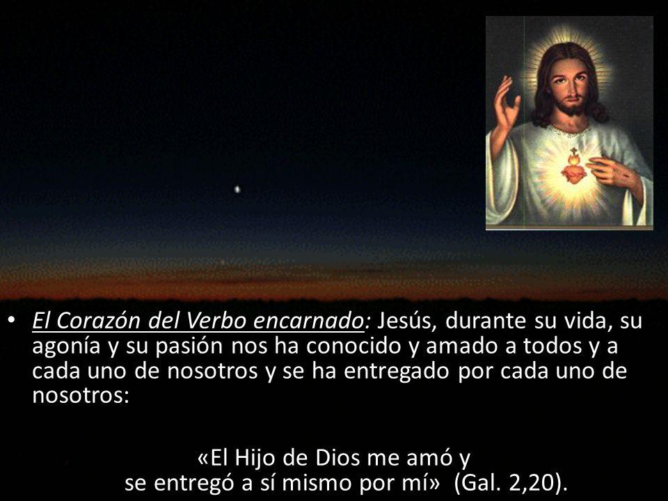 «El Hijo de Dios me amó y se entregó a sí mismo por mí» (Gal. 2,20).