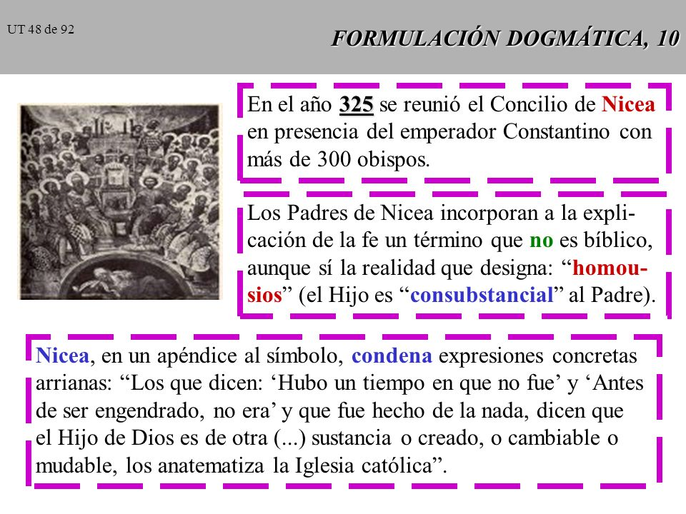 FORMULACIÓN DOGMÁTICA, 10