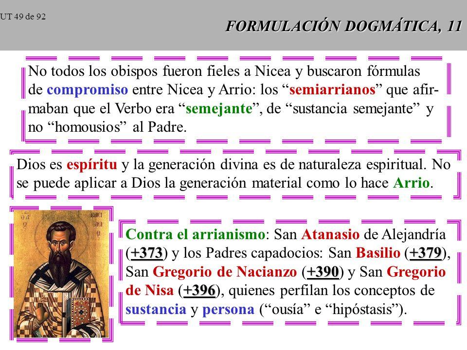 FORMULACIÓN DOGMÁTICA, 11