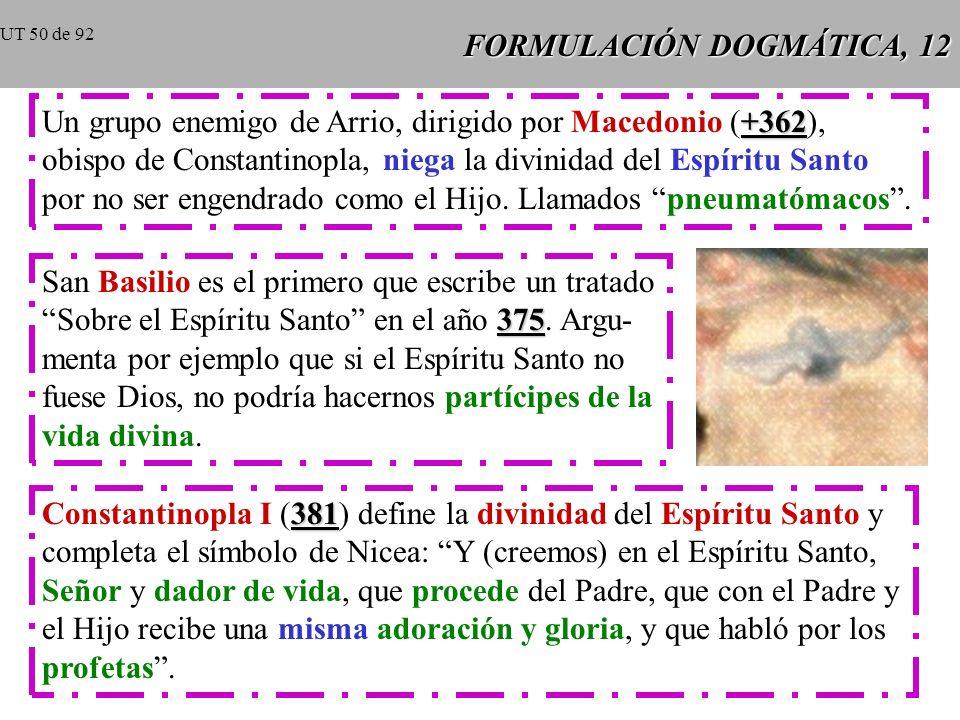 FORMULACIÓN DOGMÁTICA, 12