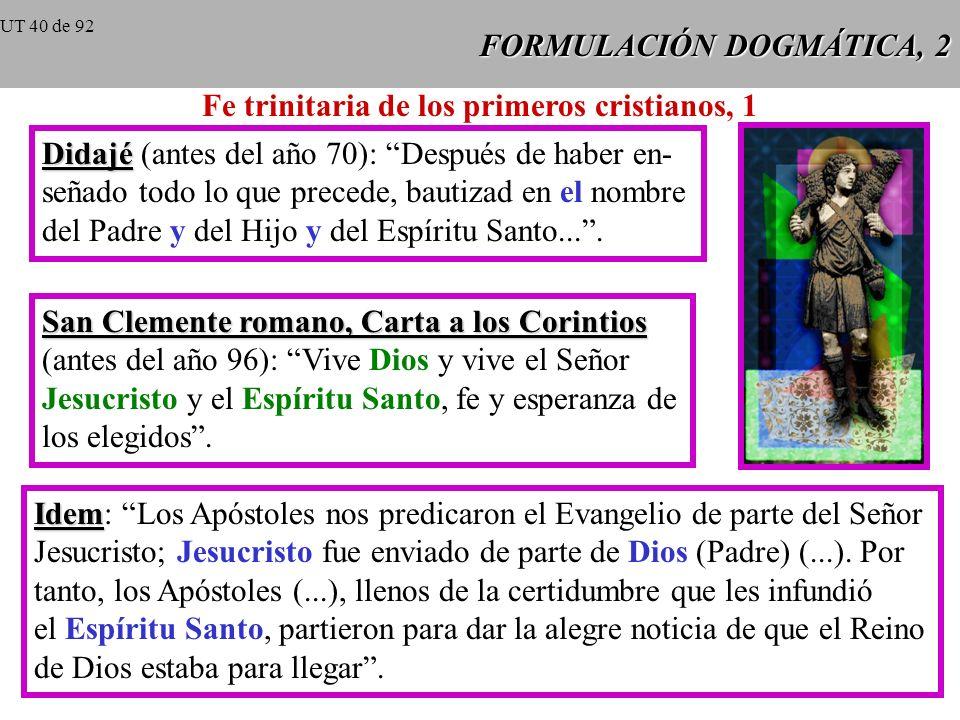 FORMULACIÓN DOGMÁTICA, 2