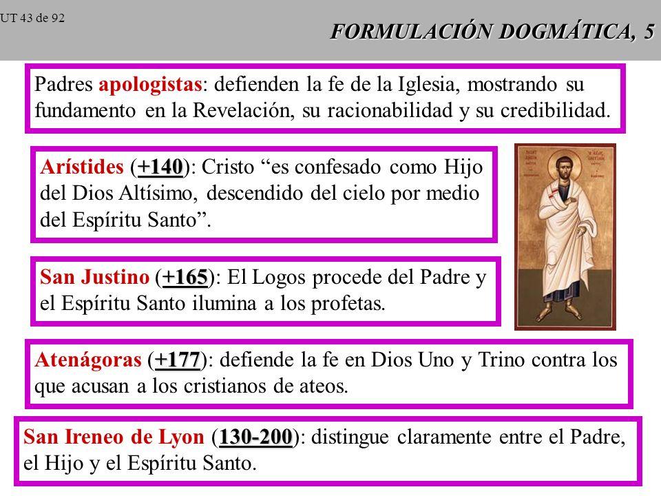 FORMULACIÓN DOGMÁTICA, 5