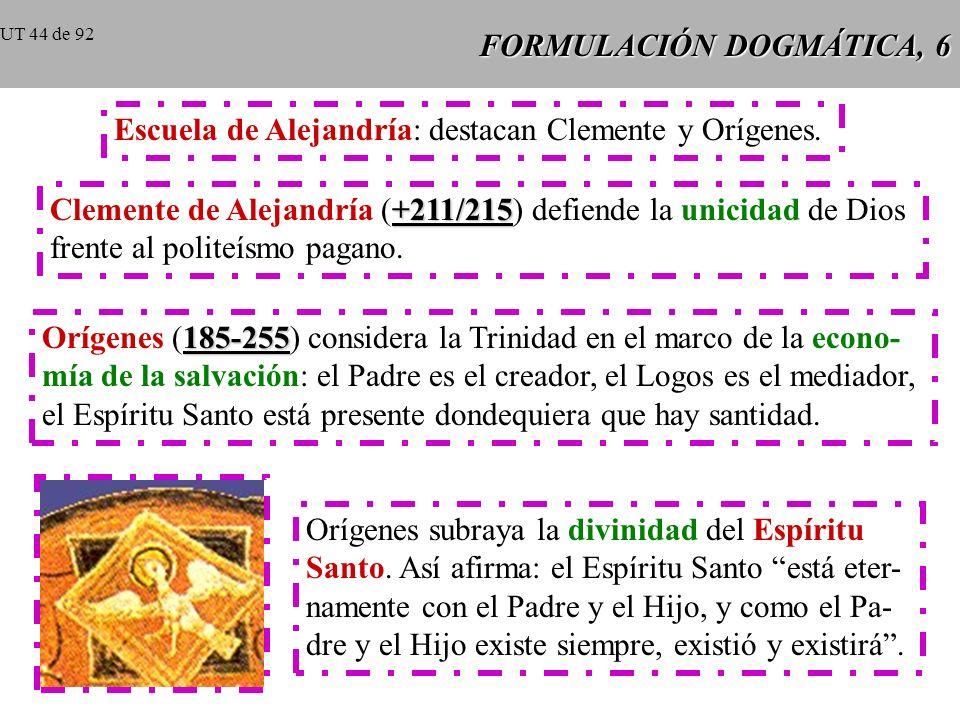 FORMULACIÓN DOGMÁTICA, 6