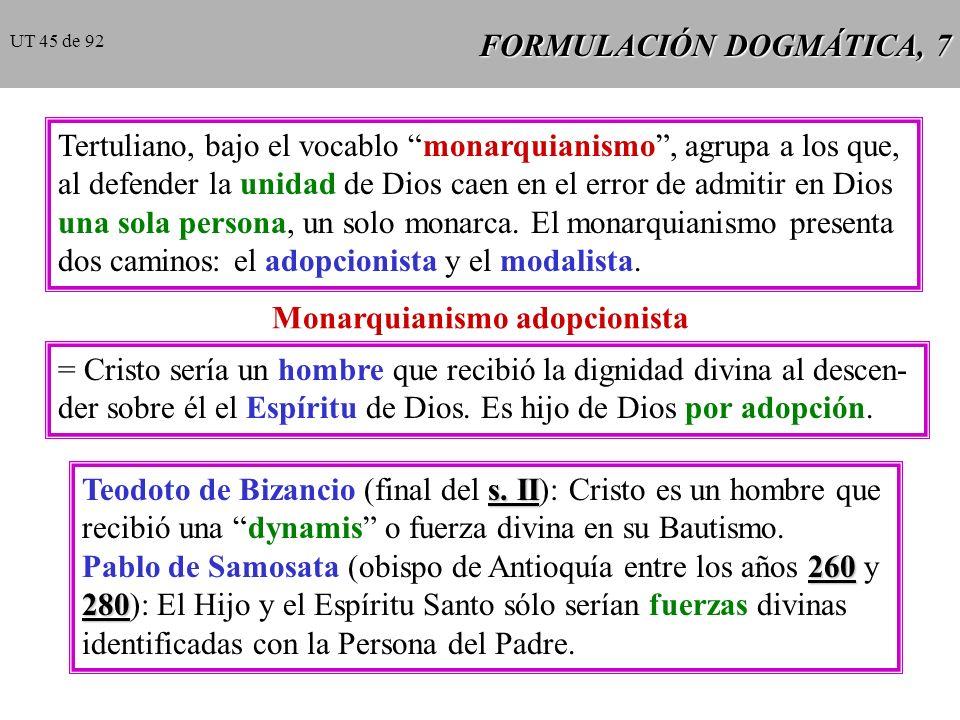 FORMULACIÓN DOGMÁTICA, 7