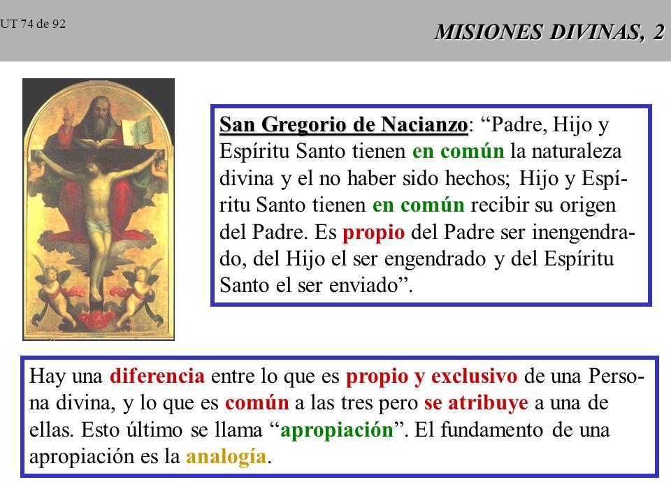San Gregorio de Nacianzo: Padre, Hijo y