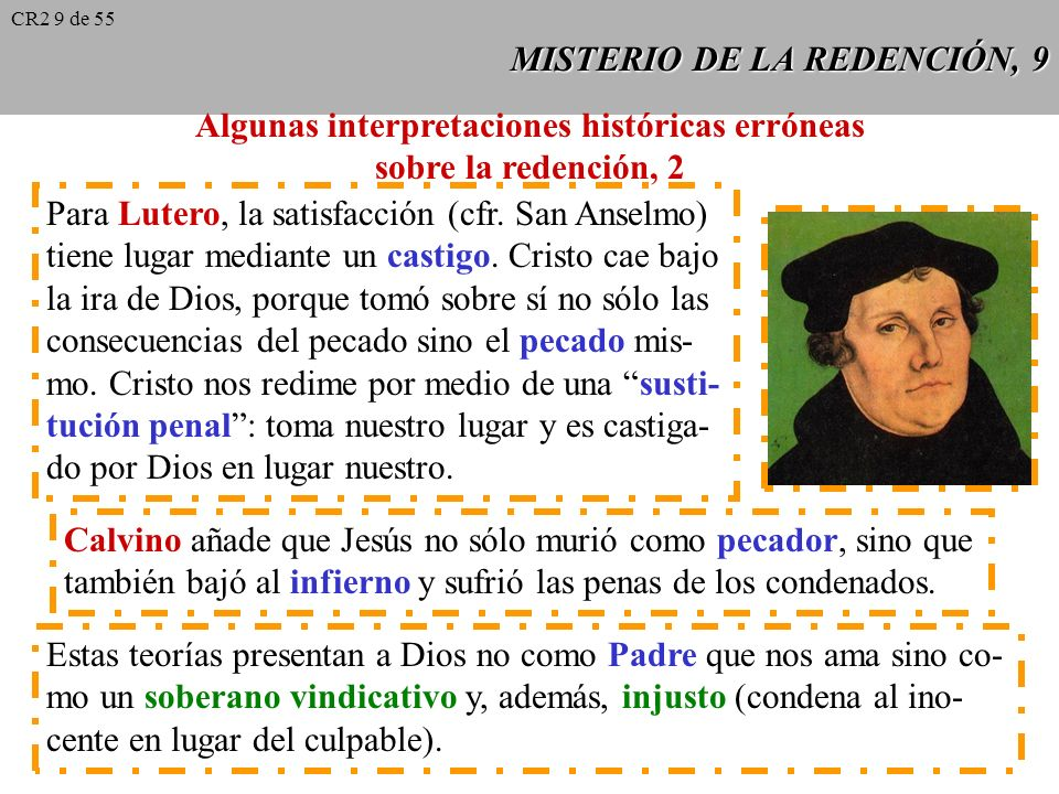 MISTERIO DE LA REDENCIÓN, 9