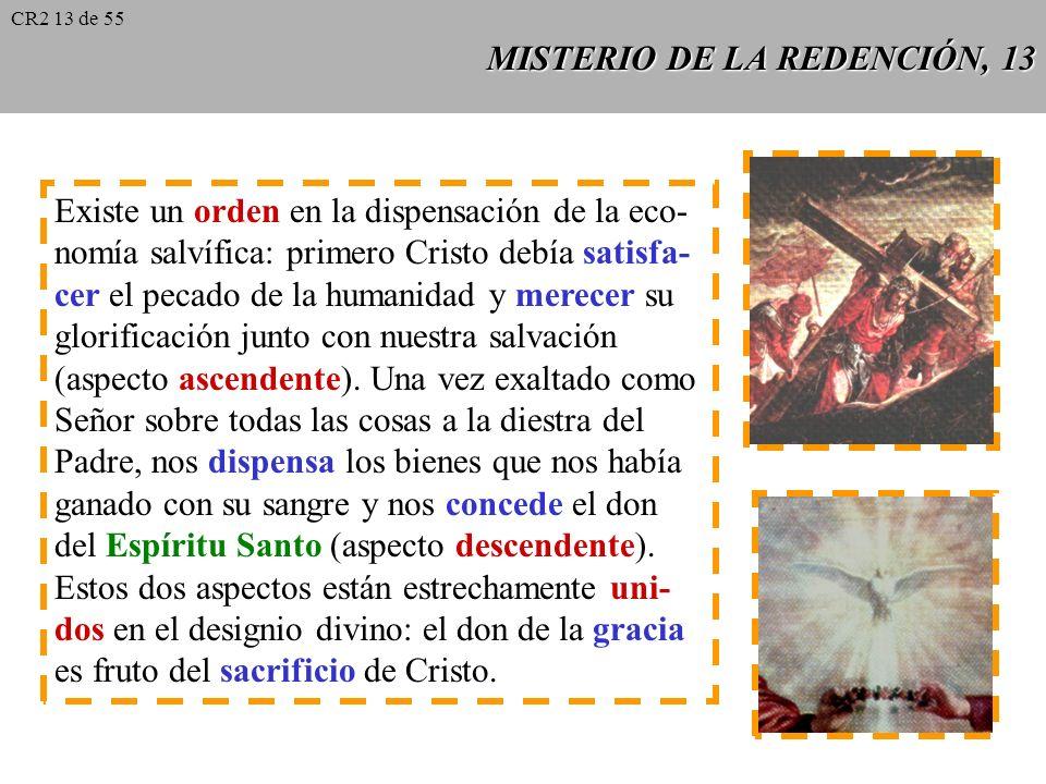 MISTERIO DE LA REDENCIÓN, 13