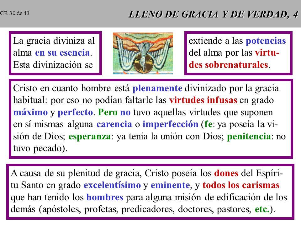 LLENO DE GRACIA Y DE VERDAD, 4