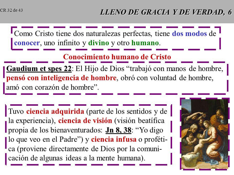 LLENO DE GRACIA Y DE VERDAD, 6