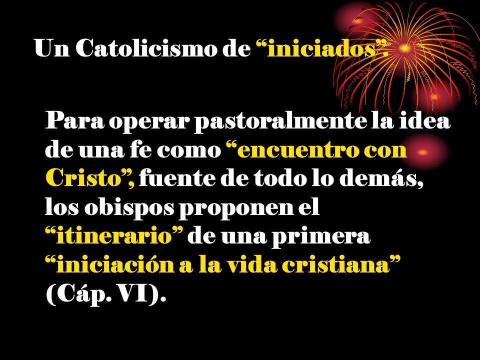 Un Catolicismo de iniciados .