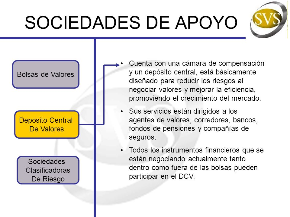 SOCIEDADES DE APOYO
