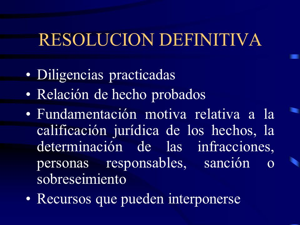 RESOLUCION DEFINITIVA