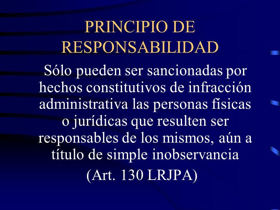 PRINCIPIO DE RESPONSABILIDAD