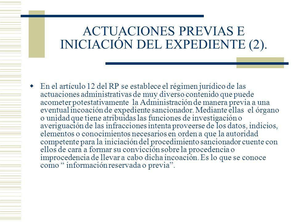 ACTUACIONES PREVIAS E INICIACIÓN DEL EXPEDIENTE (2).