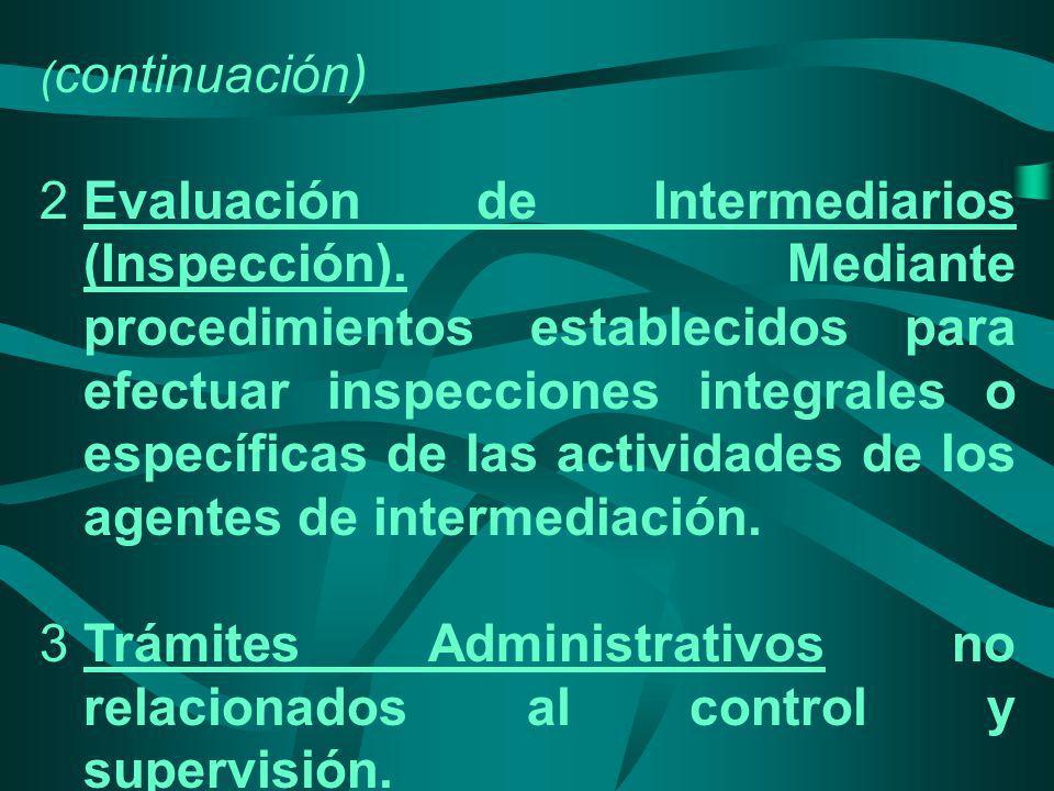 Trámites Administrativos no relacionados al control y supervisión.