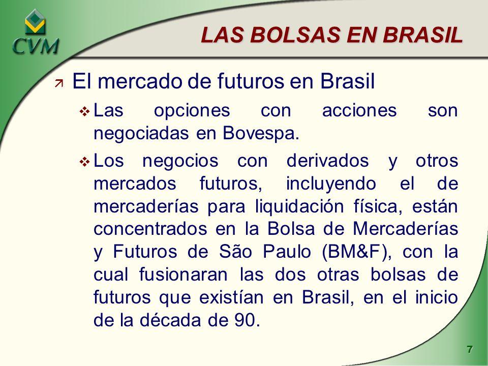 El mercado de futuros en Brasil