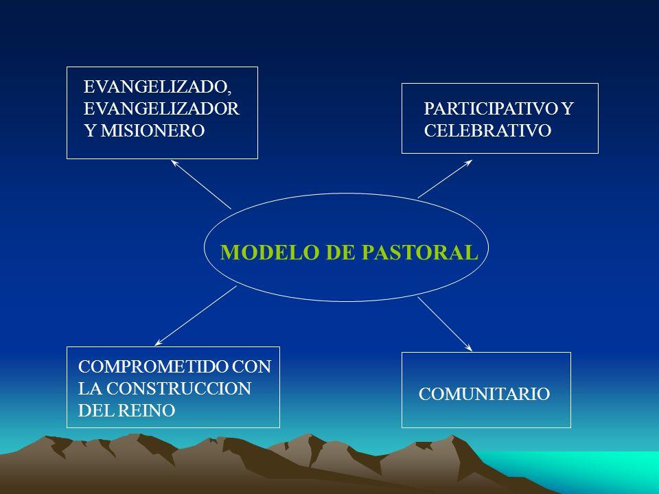 MODELO DE PASTORAL EVANGELIZADO, EVANGELIZADOR Y MISIONERO