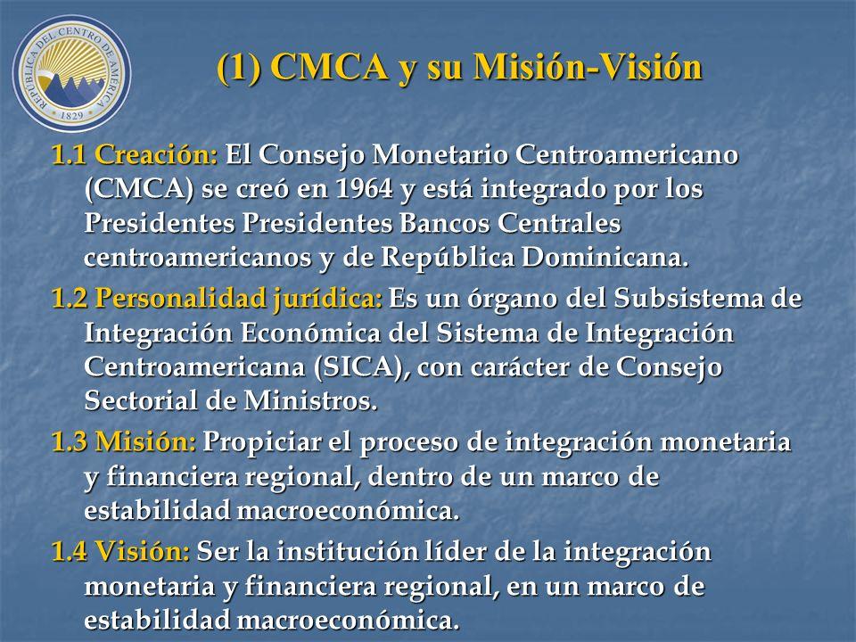 (1) CMCA y su Misión-Visión