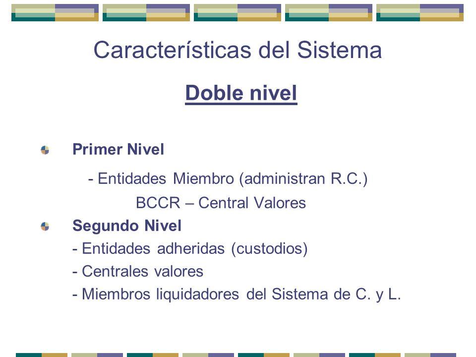 Características del Sistema