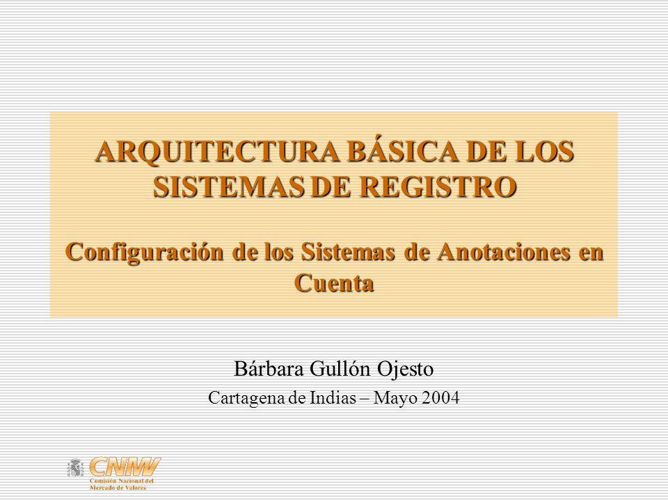 Bárbara Gullón Ojesto Cartagena de Indias – Mayo 2004