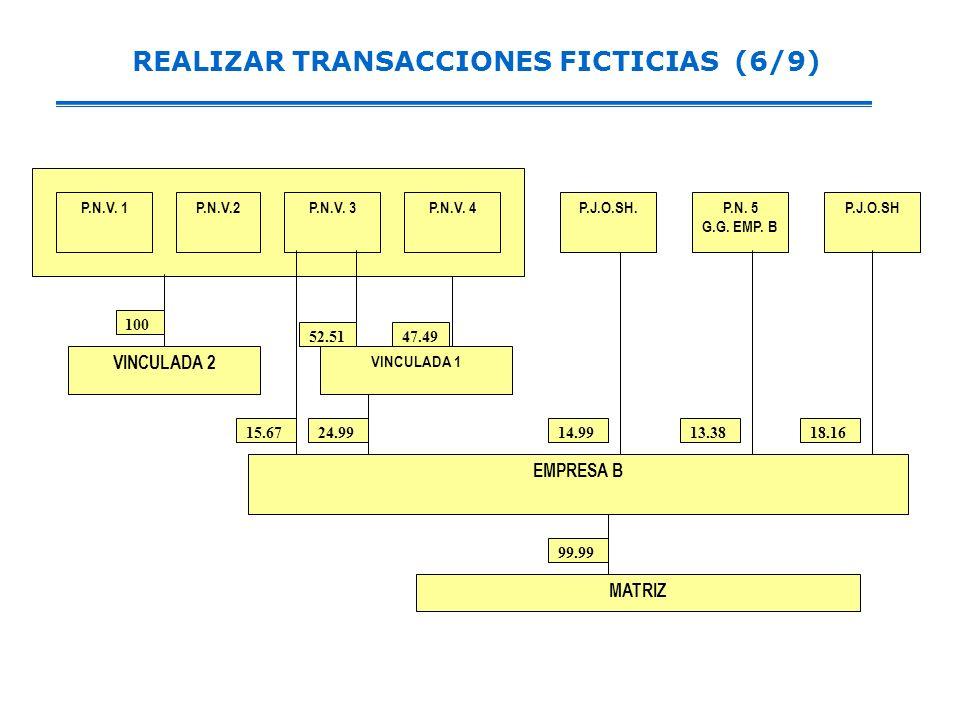 REALIZAR TRANSACCIONES FICTICIAS (6/9)
